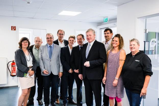Bremermann begrüßt Bernd Althusmann, Christoph Dreyer, Jürgen Köhne und weiter Politiker der CDU